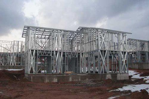 Здания на основе облегчённого металлического каркаса в Туле